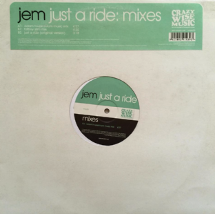"Jem - Just A Ride (Mixes) (12"") (EX/EX)"